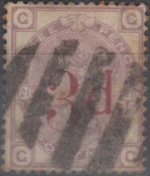 oval of 5 bars on 3d on 3d pl 21 c1883